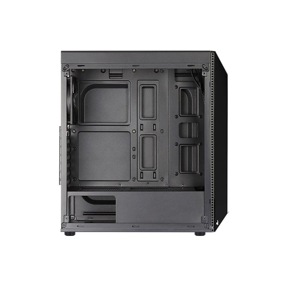 AeroCool Computer Case 4F ARGB Shard ATX Temper Glass