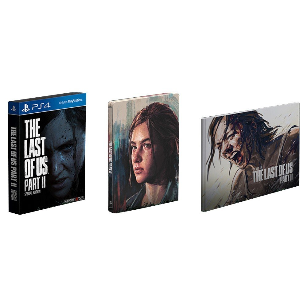 PlayStation PS4-G : The Last of US Part2 Specail Edition