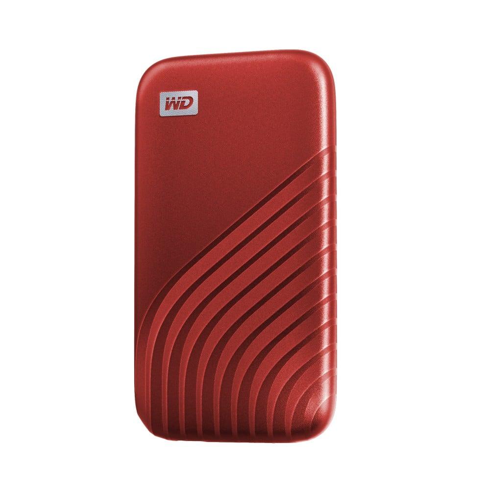 WD SSD Ext 1TB My Passport Type-C USB 3.0 Red