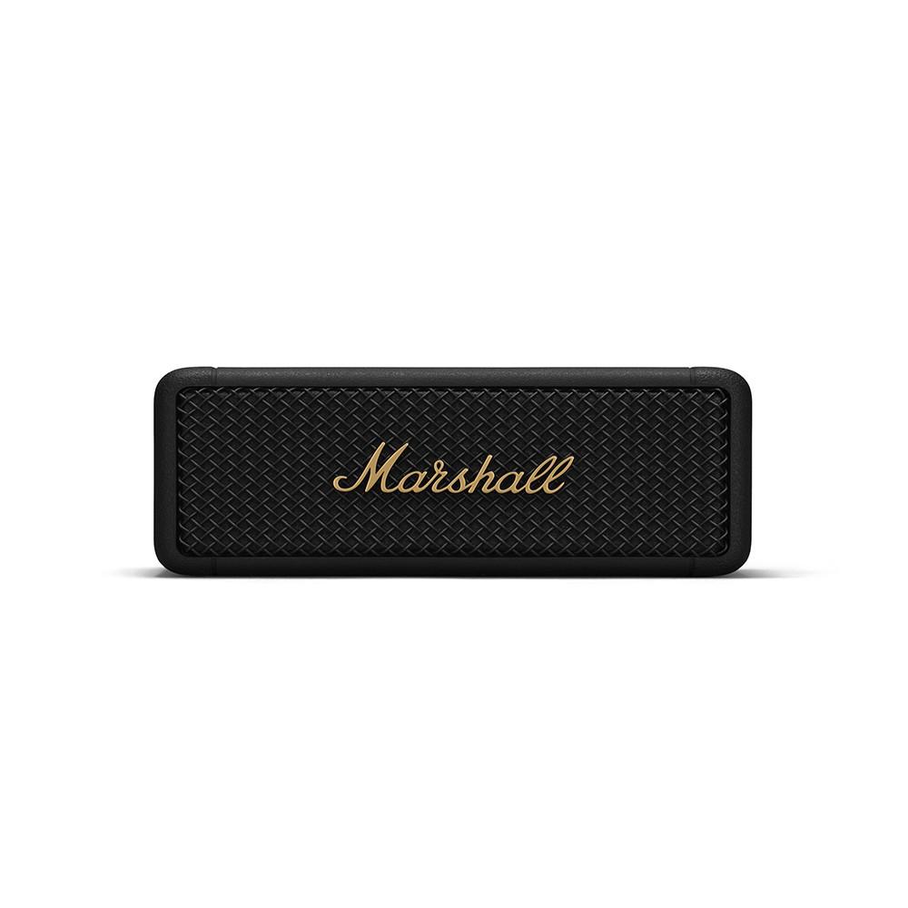 Marshall Bluetooth Speaker Emberton Black And Brass
