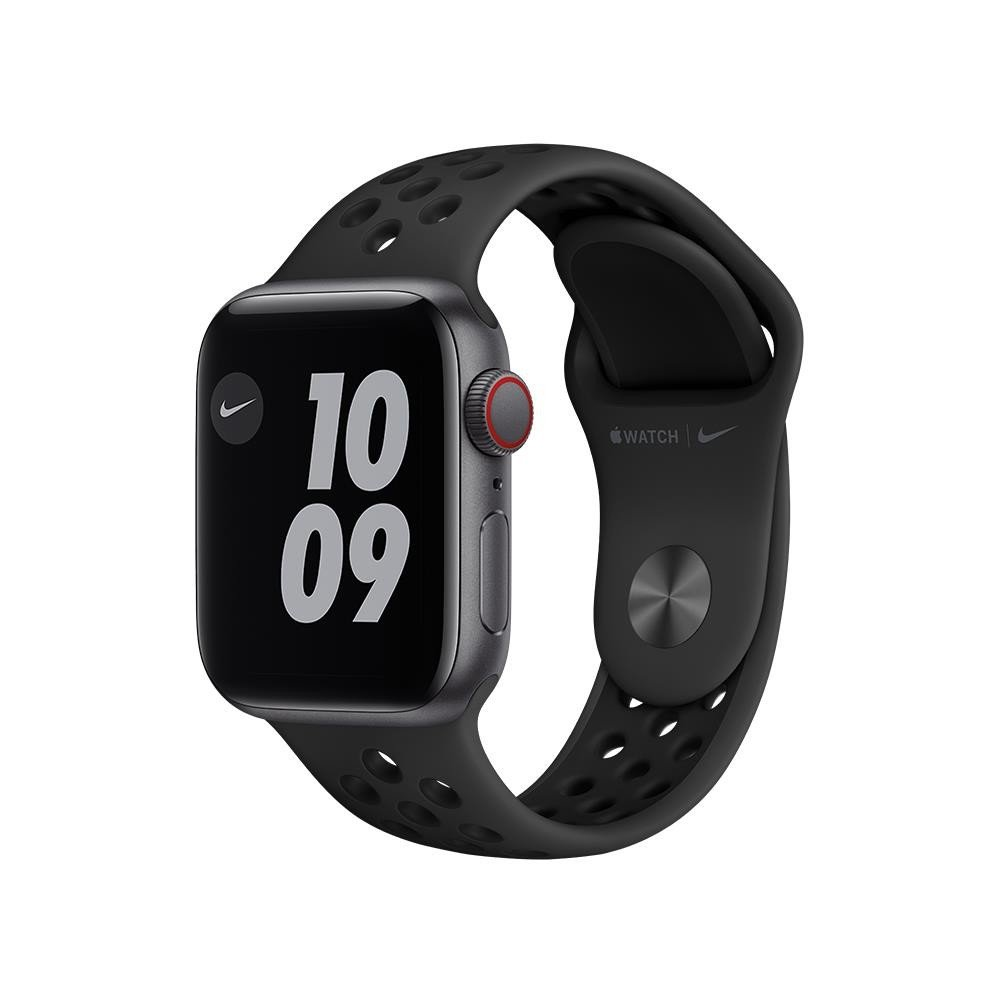 Apple Watch Nike SE GPS + Cellular 40mm Space Gray Aluminium Case with Anthracite/Black Nike Sport Band